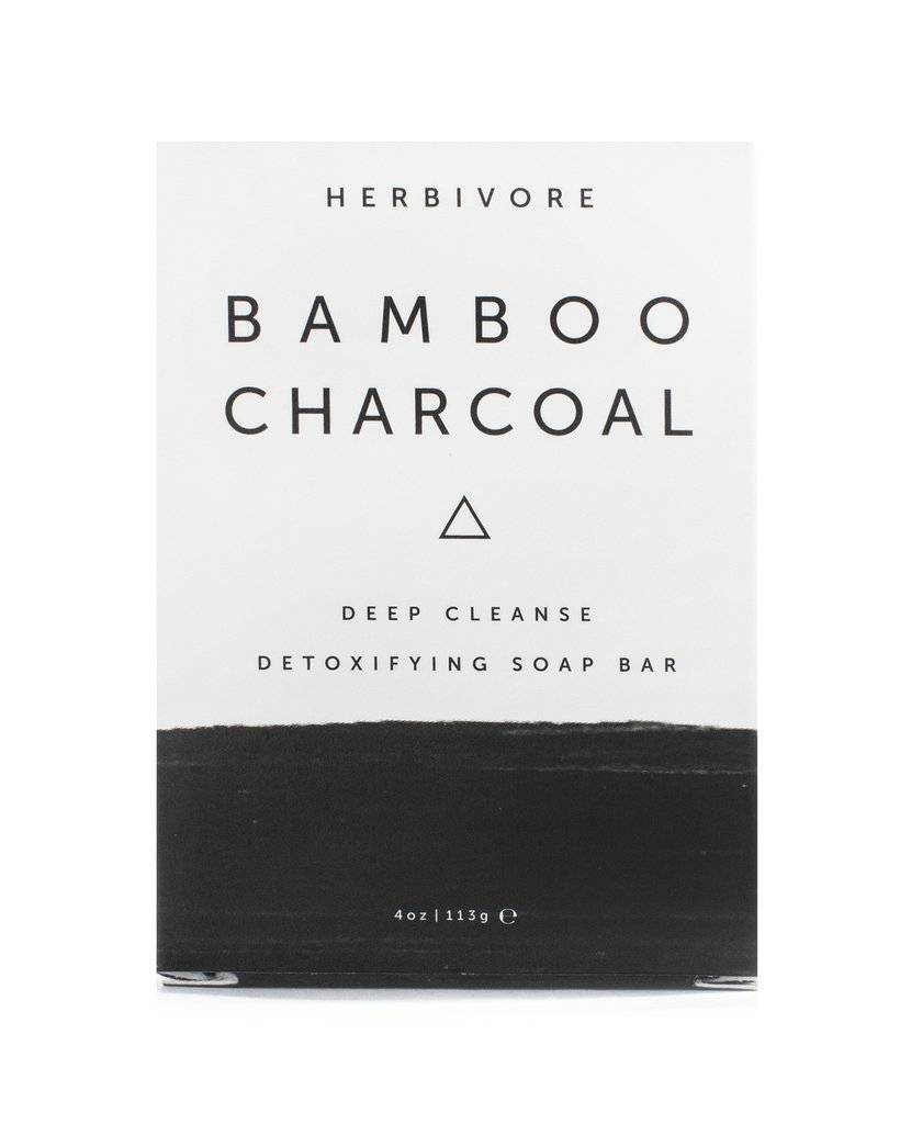 Herbivore Botanicals Herbivore Botanicals Bamboo Charcoal Cleansing Soap