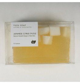 Yuzu Soap Yuzu Soap Glycerin Soap with Aloe Vera Japanese Citrus (SALE25)
