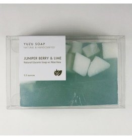 Yuzu Soap Yuzu Soap Glycerin Soap with Aloe Vera Juniper Berry & Lime