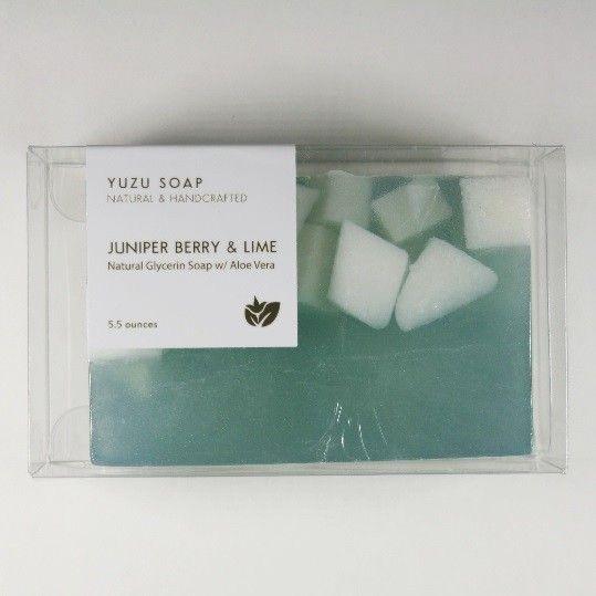 Yuzu Soap Yuzu Soap Glycerin Soap with Aloe Vera Juniper Berry & Lime