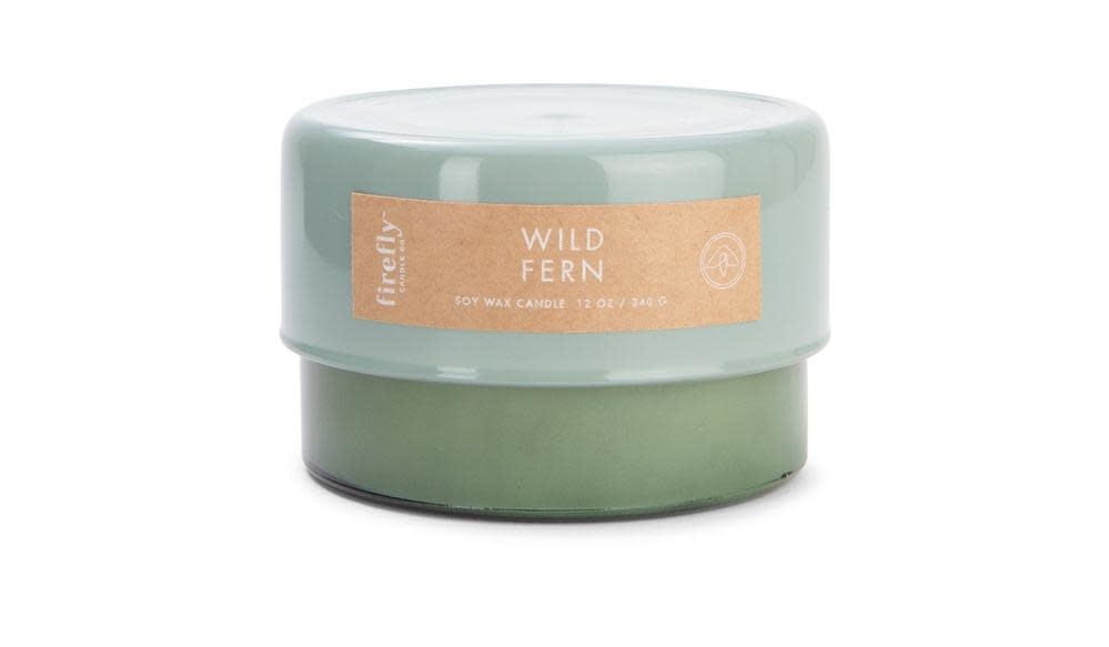 Firefly Candle Co Firefly Botany Collection Wild Fern Candle