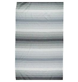 Riviera Towel Co Riviera Santa Barbara Turkish Towel Blk/Char