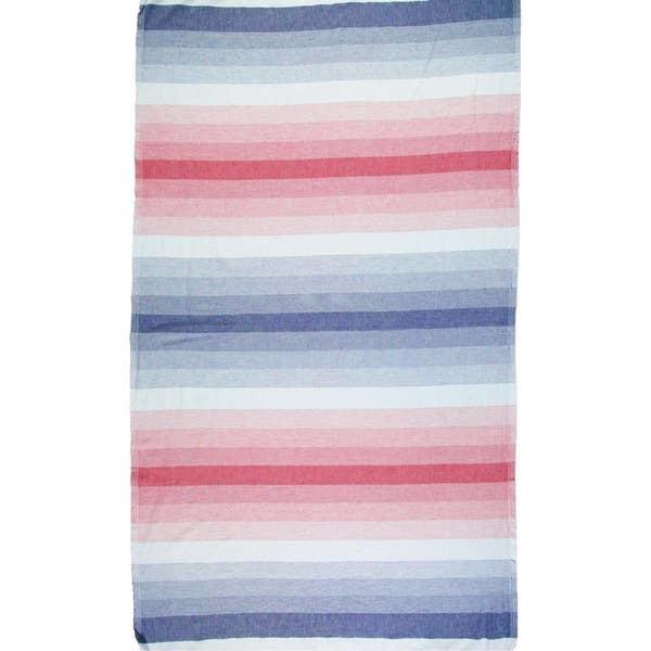 Riviera Towel Co Riviera Santa Barbara Turkish Towel Nvy/Red