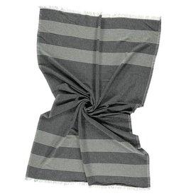 Riviera Towel Co Riviera Towel Sorrento Turkish Towel Black