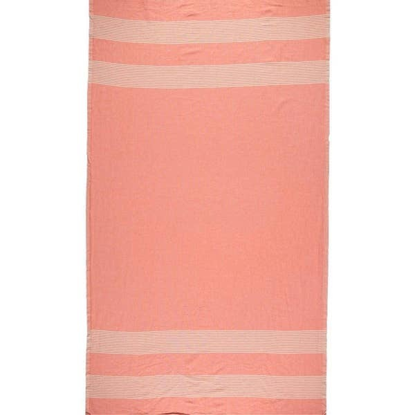 Riviera Towel Co Riviera Towel Sorrento Turkish Towel Coral