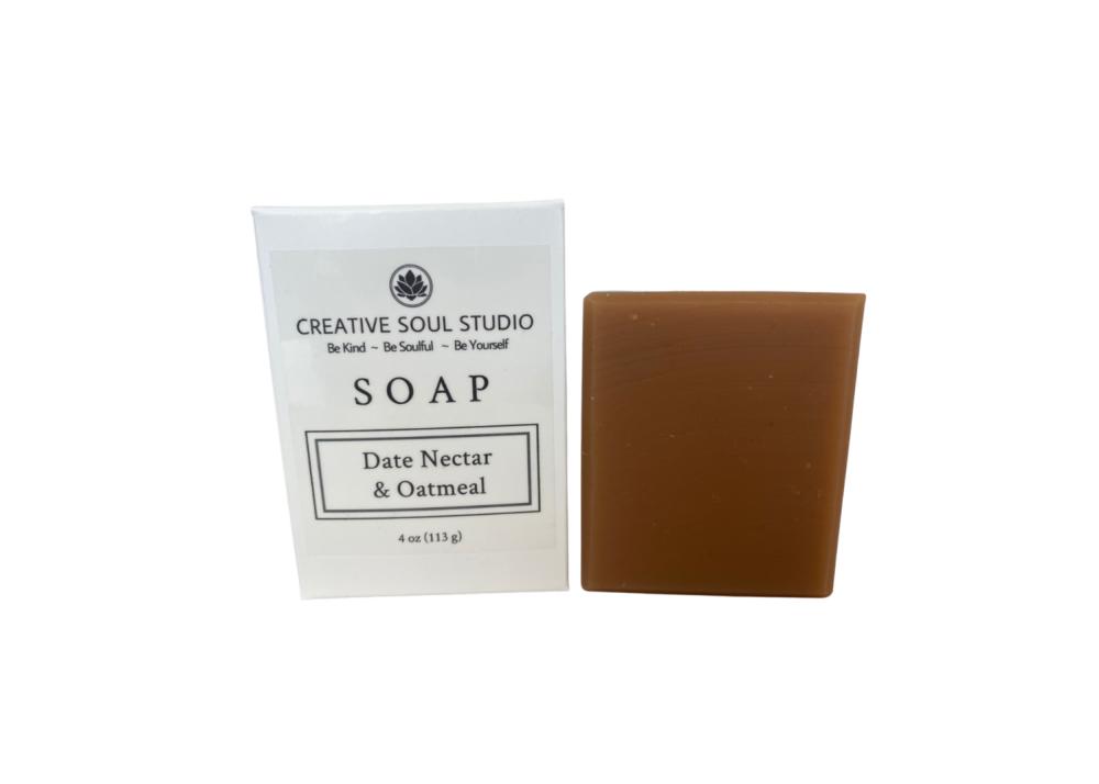 Creative Soul Studio Creative Soul Studio Date Nectar Oatmeal Soap