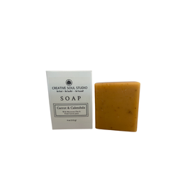 Creative Soul Studio Creative Soul Studio Carrot Calendula Soap