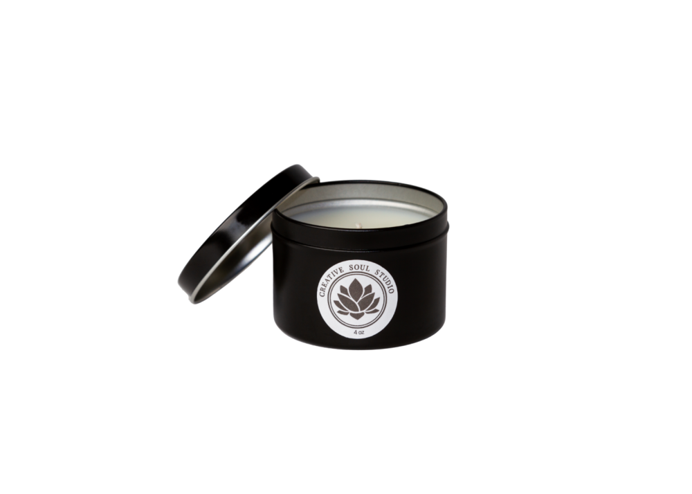 Creative Soul Studio Creative Soul Studio Cactus Flower Jade Candle