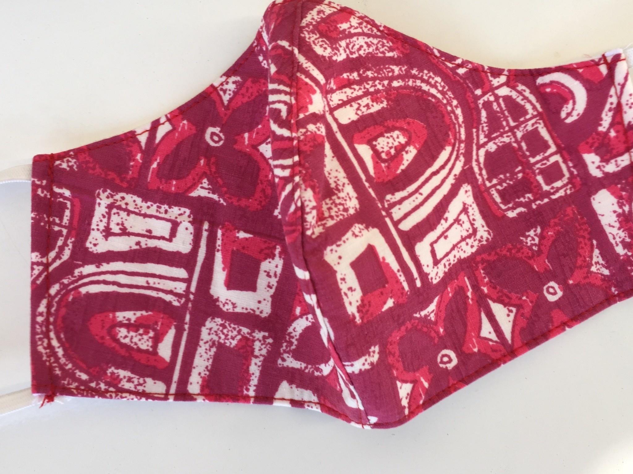 Bayside Masks Bayside Masks Reyn Spooner 10 (red)(SALE40)