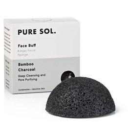 Pure Sol Pure Sol Charcoal Konjac Facial Sponge