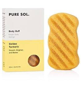 Pure Sol Pure Sol Tumeric Konjac Body Sponge