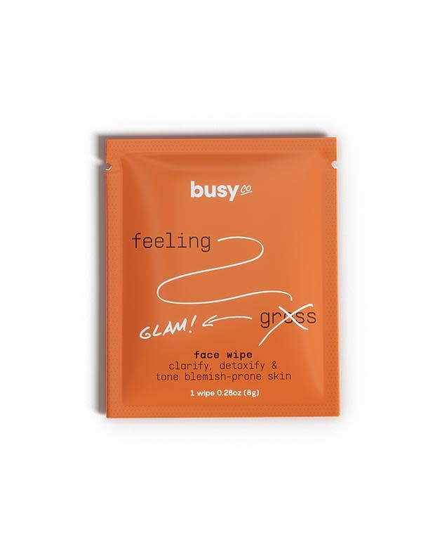 busy co busy co refresh face wipe