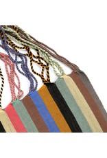 The Global Trunk The Global Trunk Chiapas Hammock Bag Wide Stripe Multi-Colo