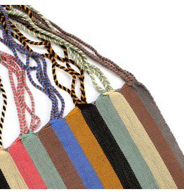 The Global Trunk The Global Trunk Chiapas Hammock Bag Wide Stripe Multi-Colo