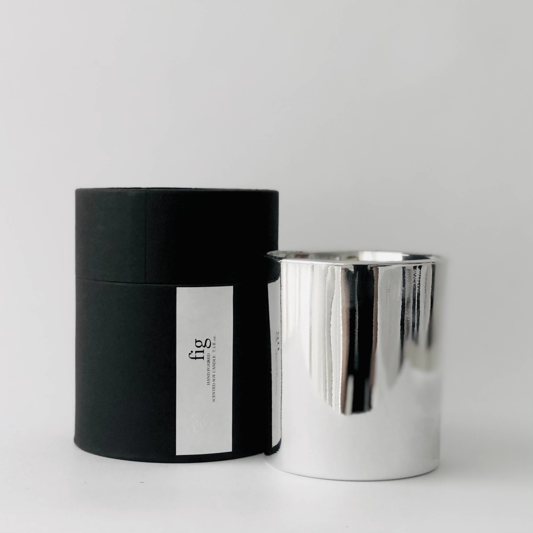 Atelier 880 Atelier 880 Fig Silver Minimalist Candle