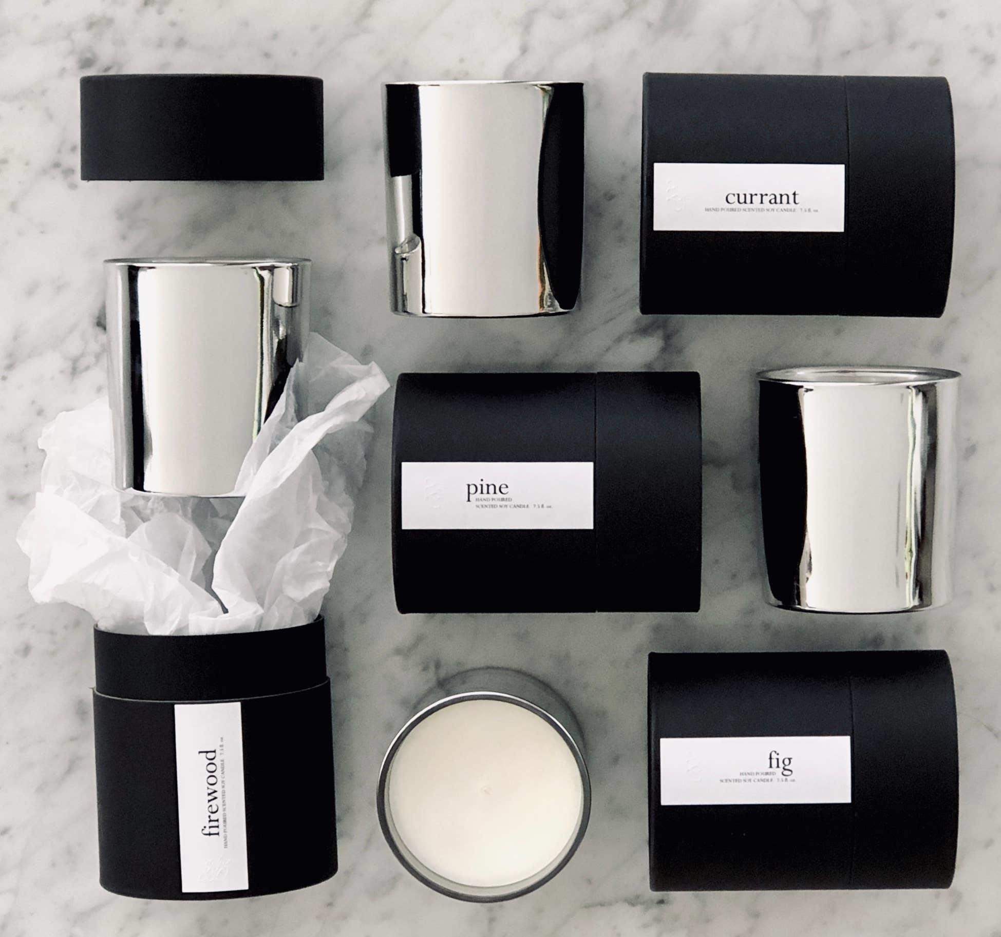 Atelier 880 Atelier 880 Garden Silver Minimalist Candle