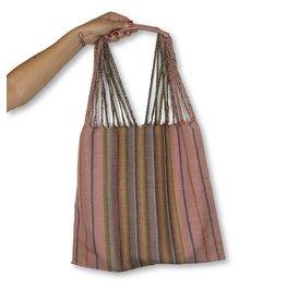 Lumily Lumily Poppy Woven Hammock Bag Pink