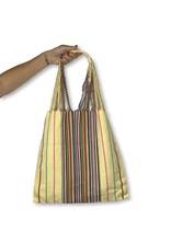 Lumily Lumily Poppy Woven Hammock Bag Yellow