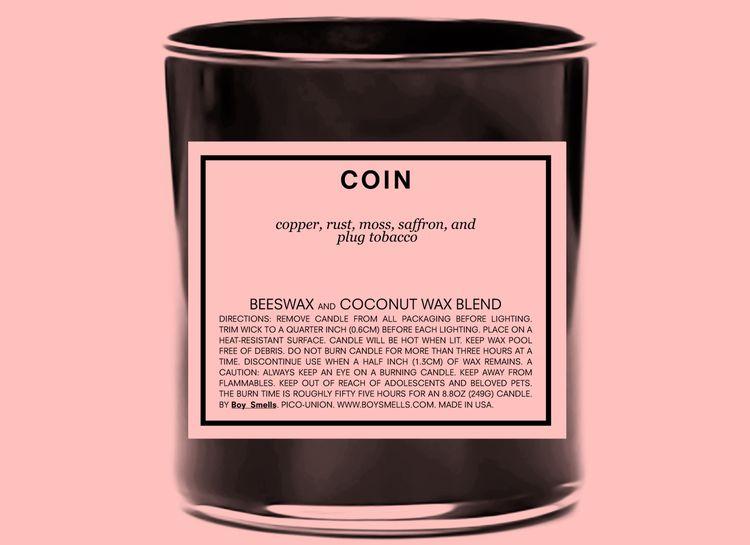 Boy Smells Boy Smells Candle Coin
