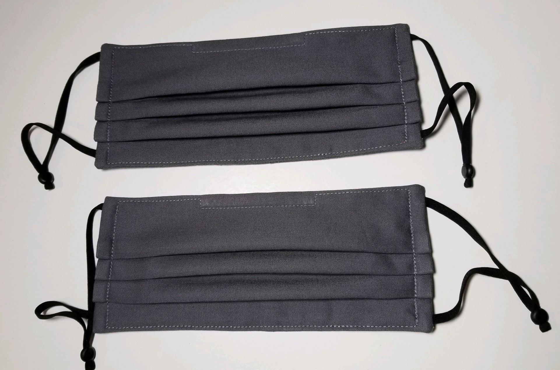 Snori Dori Design 3 Layer Grey Face Mask Sm