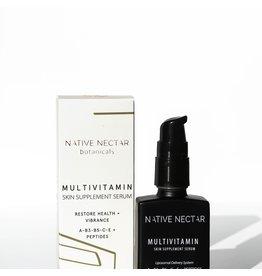 Native Nectar Botanicals Native Nectar Botanicals MultiVitamin Skin Supplement Serum