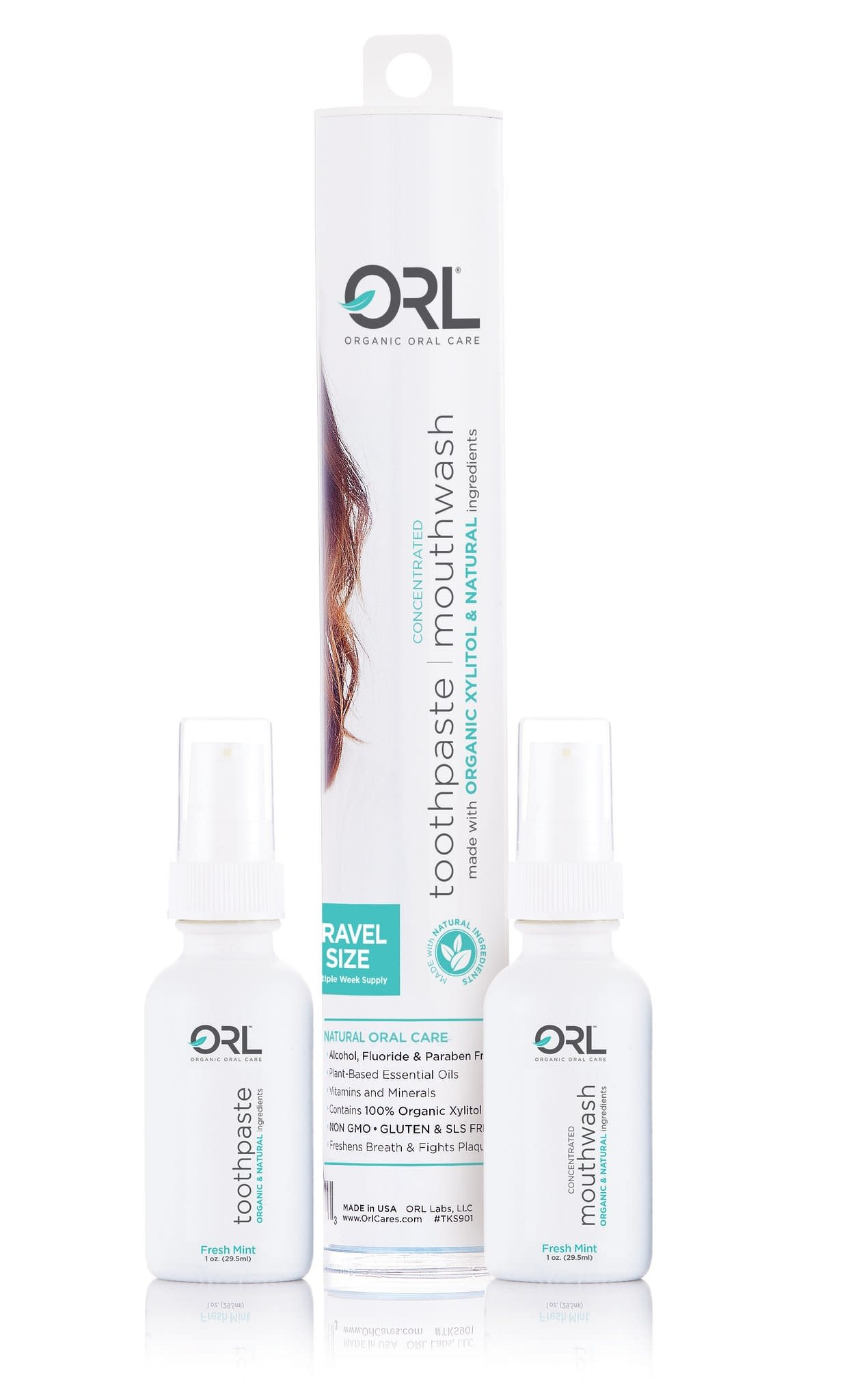 ORL ORL Fresh Mint Travel Set