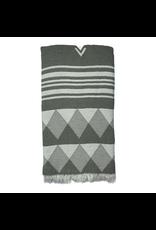 Turkan Home Turkan Home Grey Mist Turkish Towel