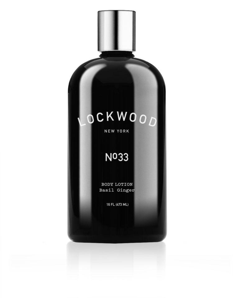 Lockwood New York Lockwood NY No.33 Ginger Basil Body Lotion (SALE50)