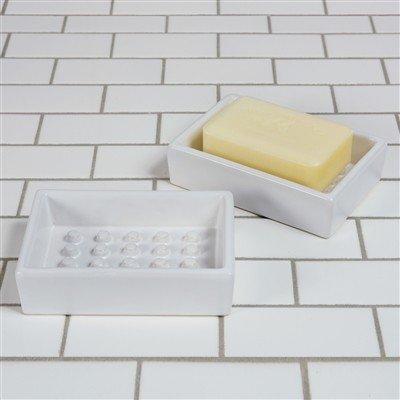 Homart HomArt Ceramic Soap Dish-Raised Peg