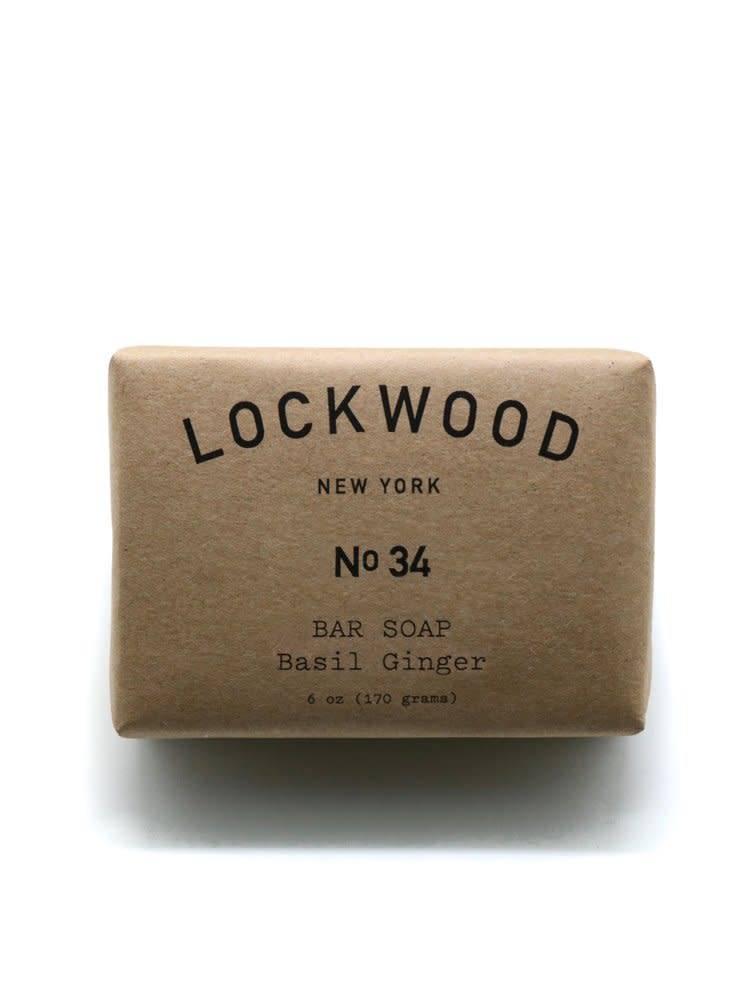 Lockwood New York Lockwood NY No.34 Ginger Basil Bar Soap