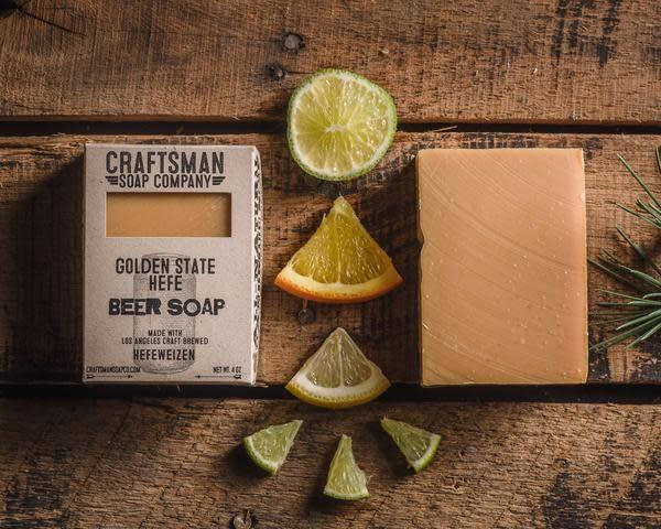 Craftsman Soap Co Craftsman Golden State Hefe Beer Soap