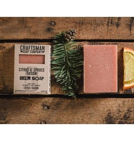 Craftsman Soap Co Craftsman Citrus & Spruce Saison Beer Soap