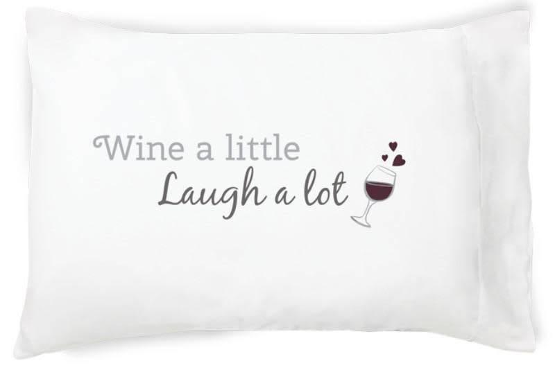 Faceplant Dreams Faceplant Dreams Wine a Little-Std (Single Pillowcase)