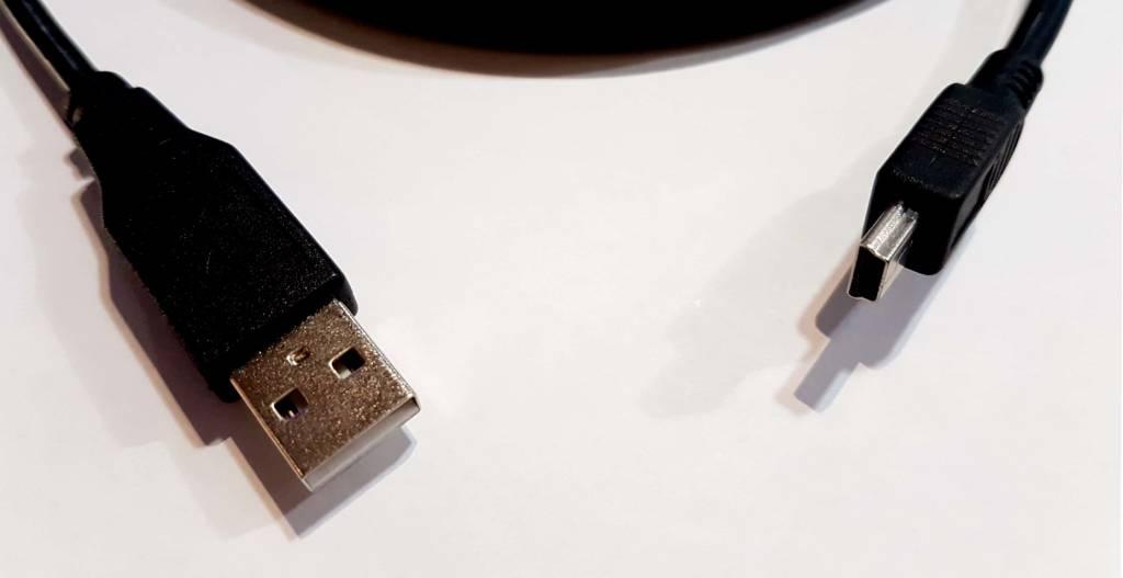 CABLE USB A - MINI B 6 PIEDS
