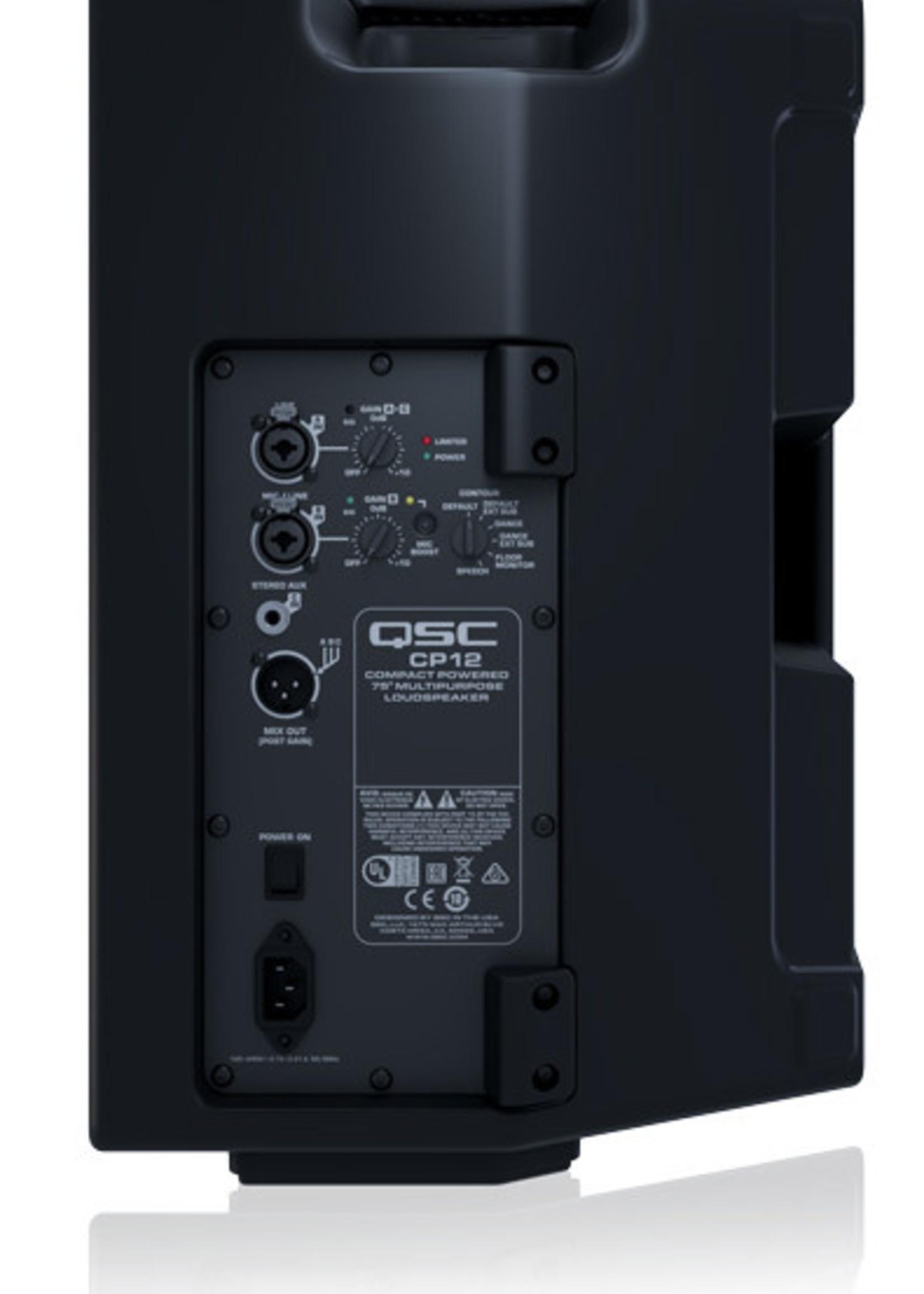 QSC CP12 1000W QSC *LOCATION*