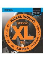 D'ADDARIO EXL160-5 BASS D'ADDARIO