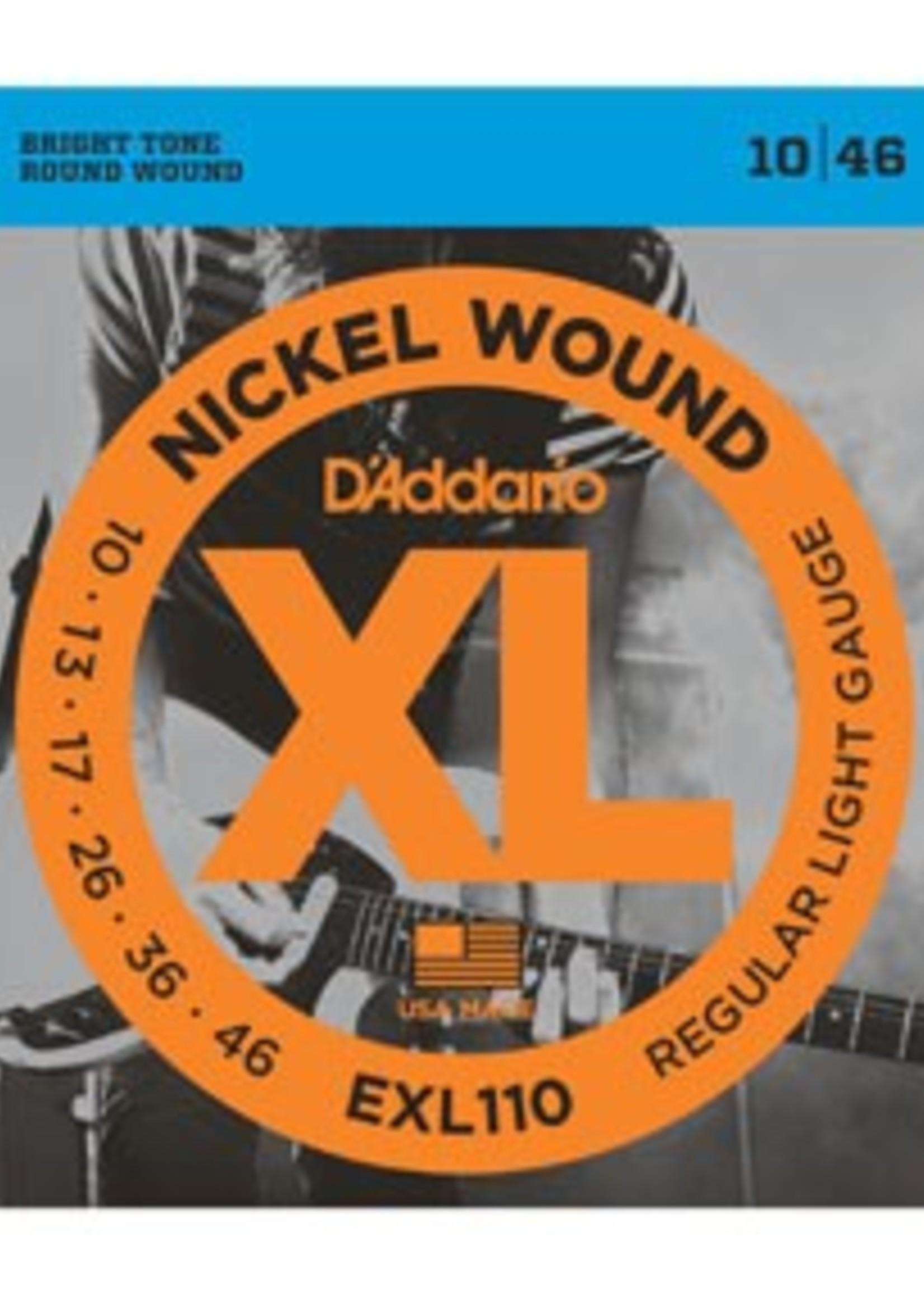 D'ADDARIO EXL110 ELECTRIQUE D'ADDARIO
