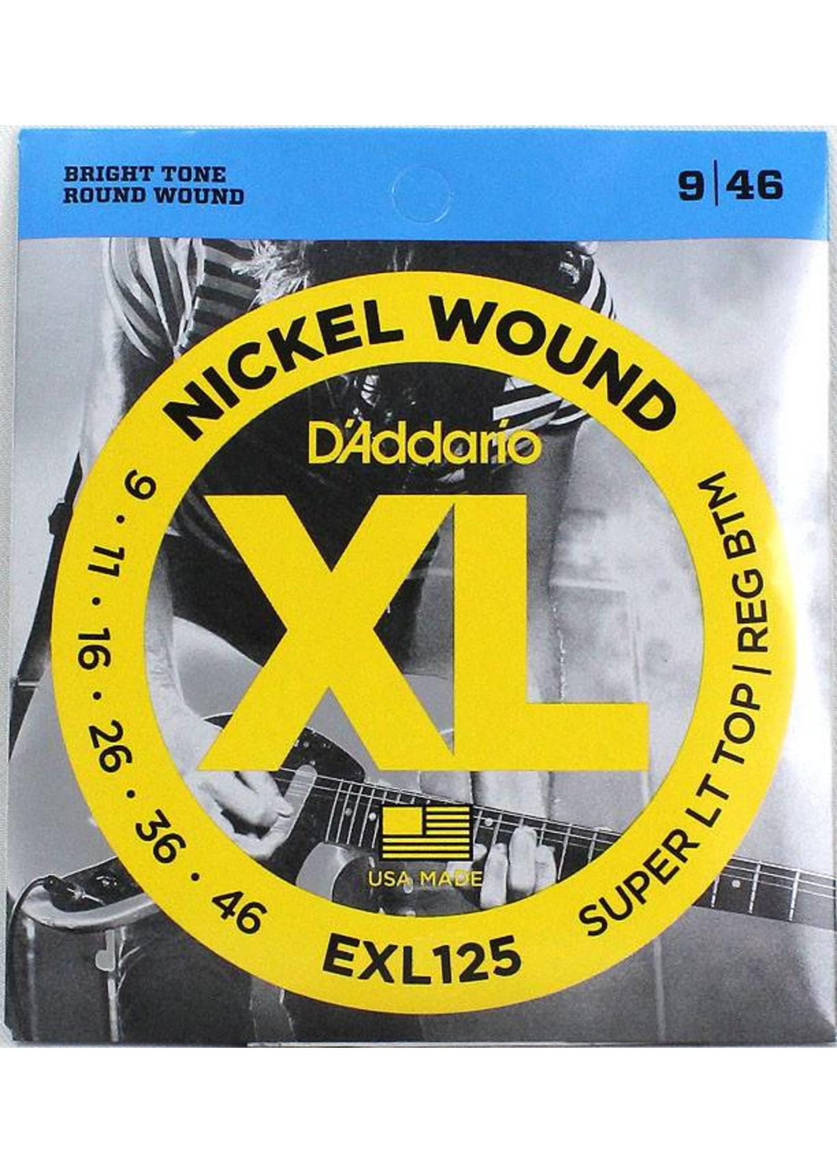 D'ADDARIO EXL125 D'ADDARIO