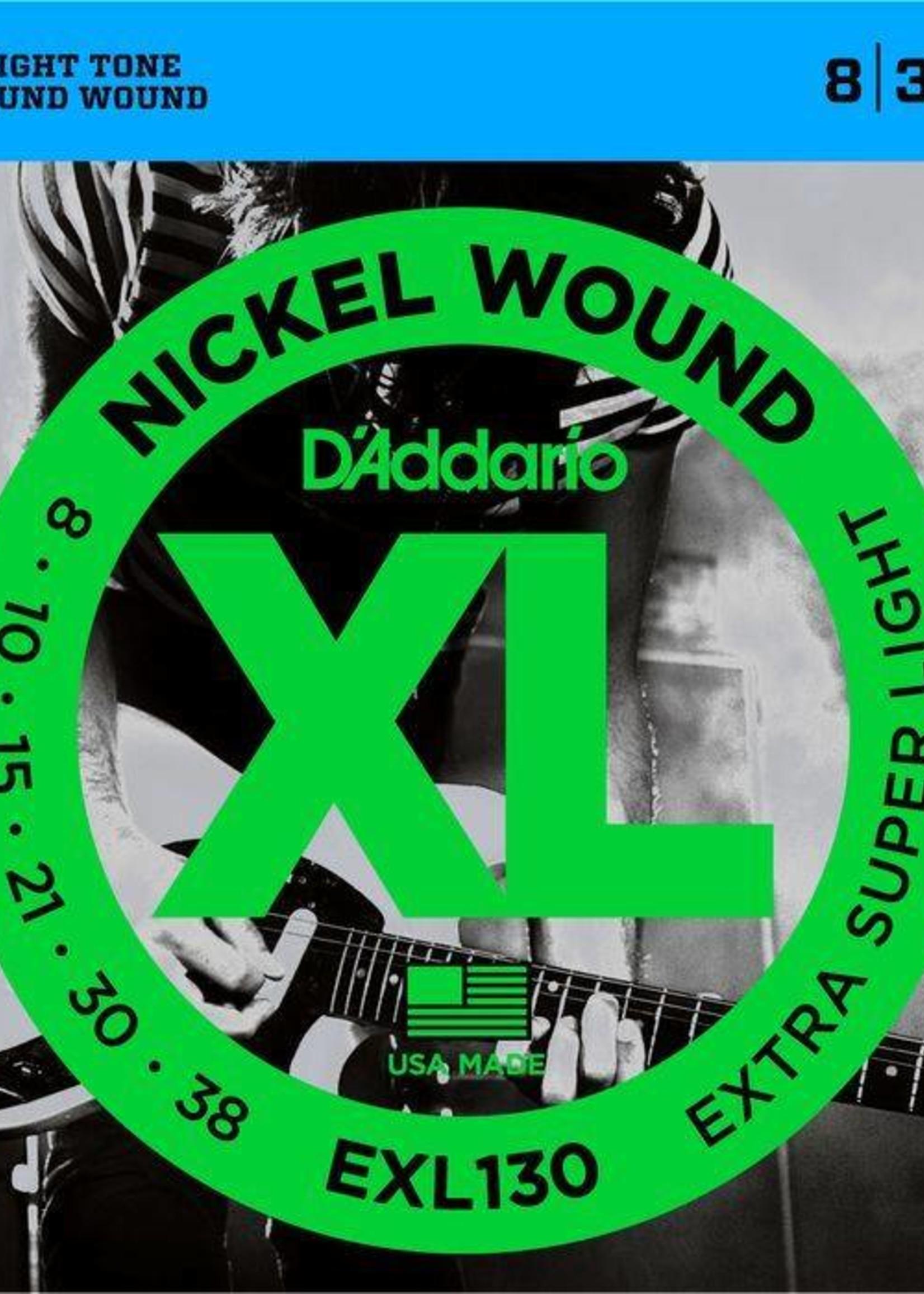 D'ADDARIO EXL130 ELECTRIQUE D'ADDARIO