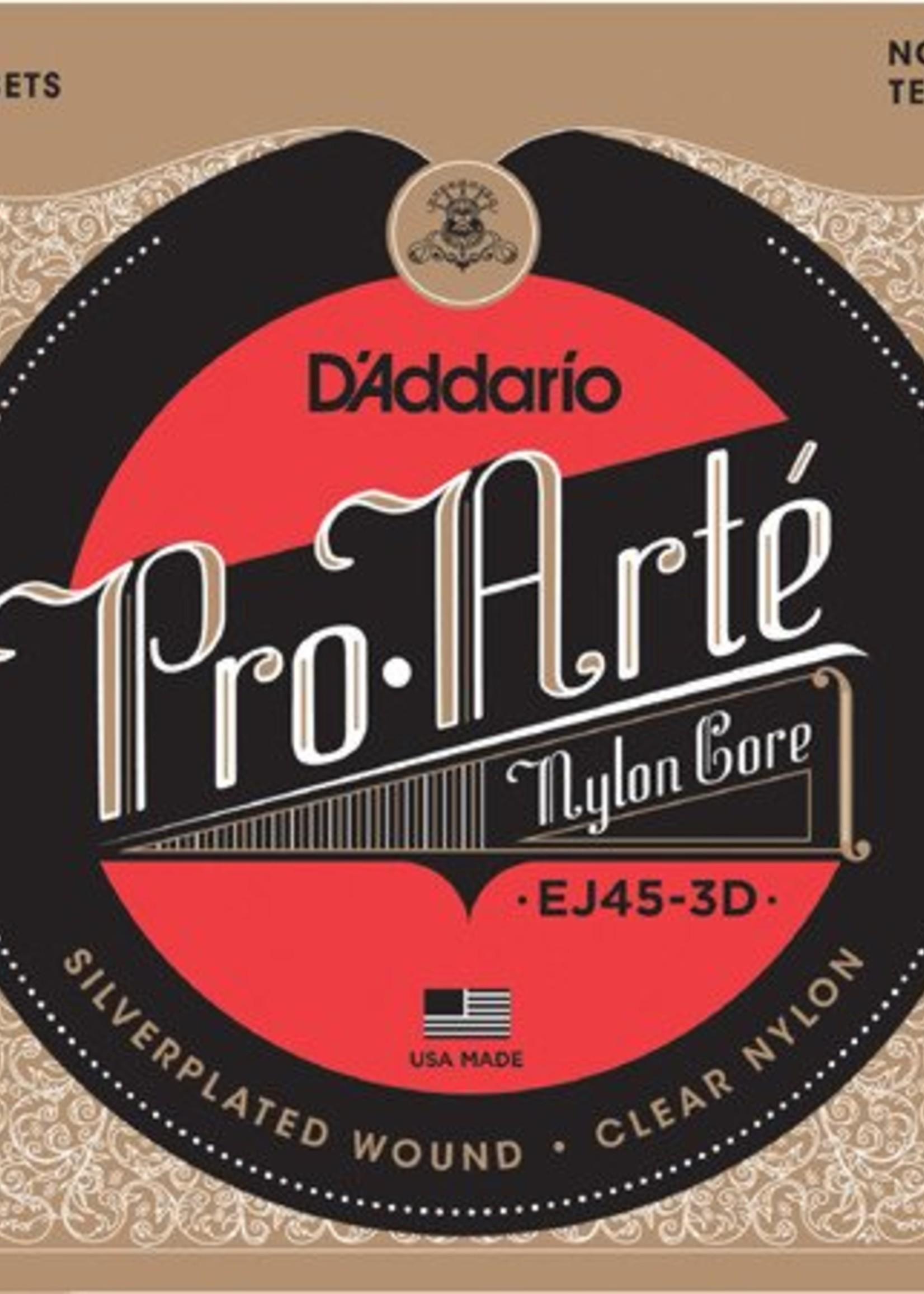 D'ADDARIO EJ45 3D CLASSIQUE D'ADDARIO