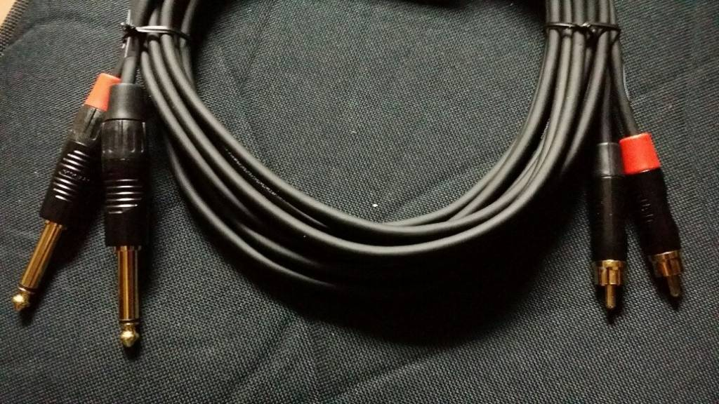 DIGIFLEX CABLE RCA-1/4 DIGIFLEX