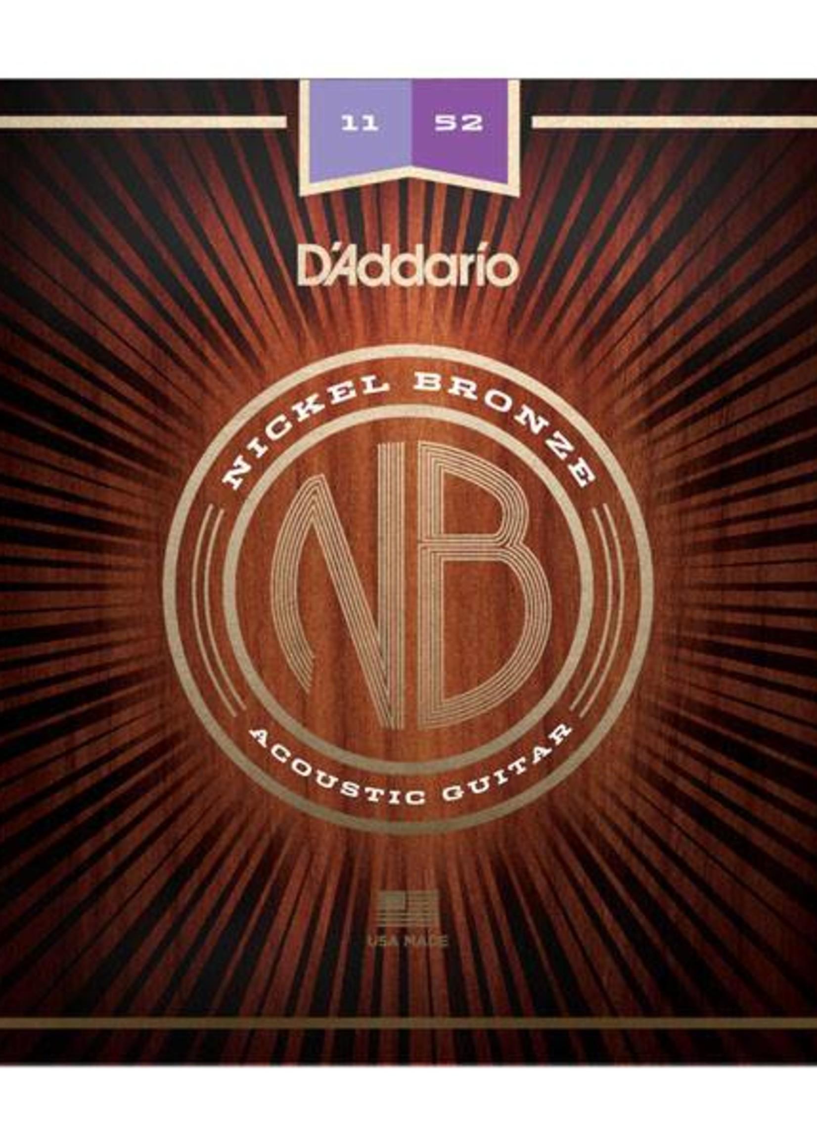 D'ADDARIO NB1152 ACOUSTIQUE D'ADDARIO