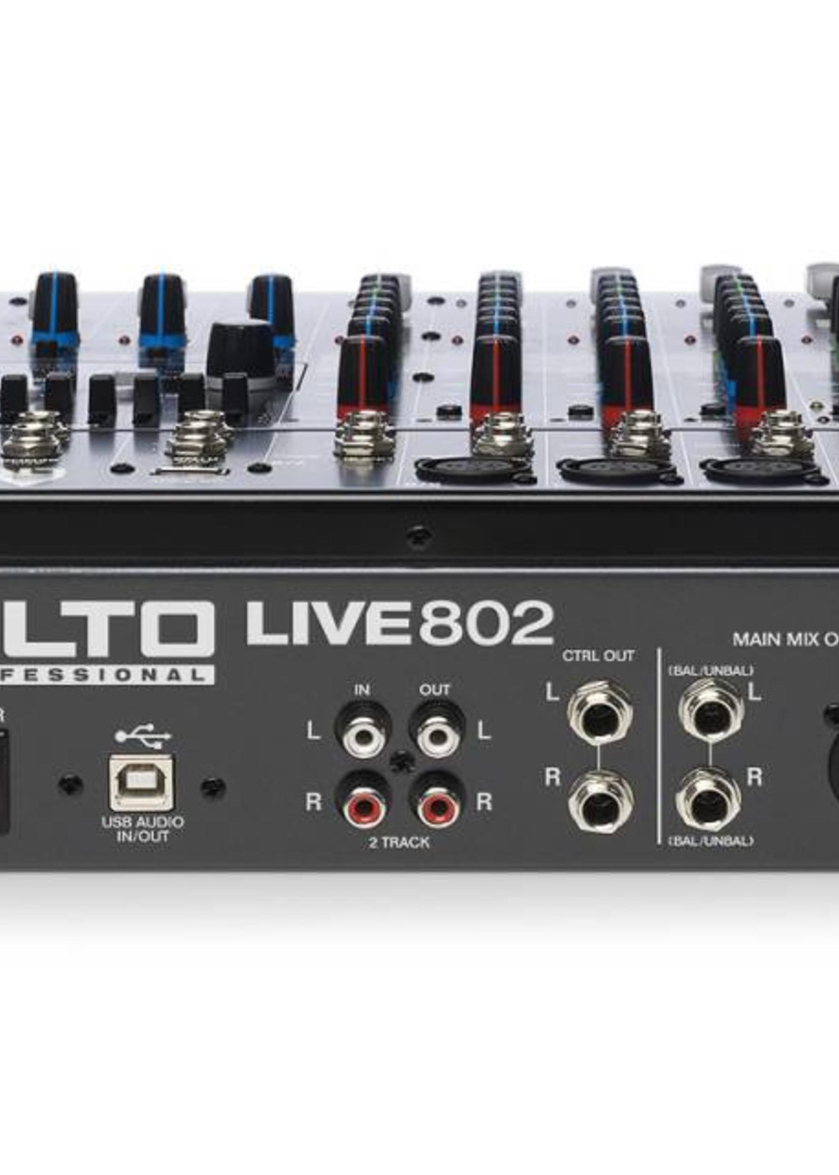 ALTO PROFESSIONAL LIVE 802 ALTO PROFESSIONAL