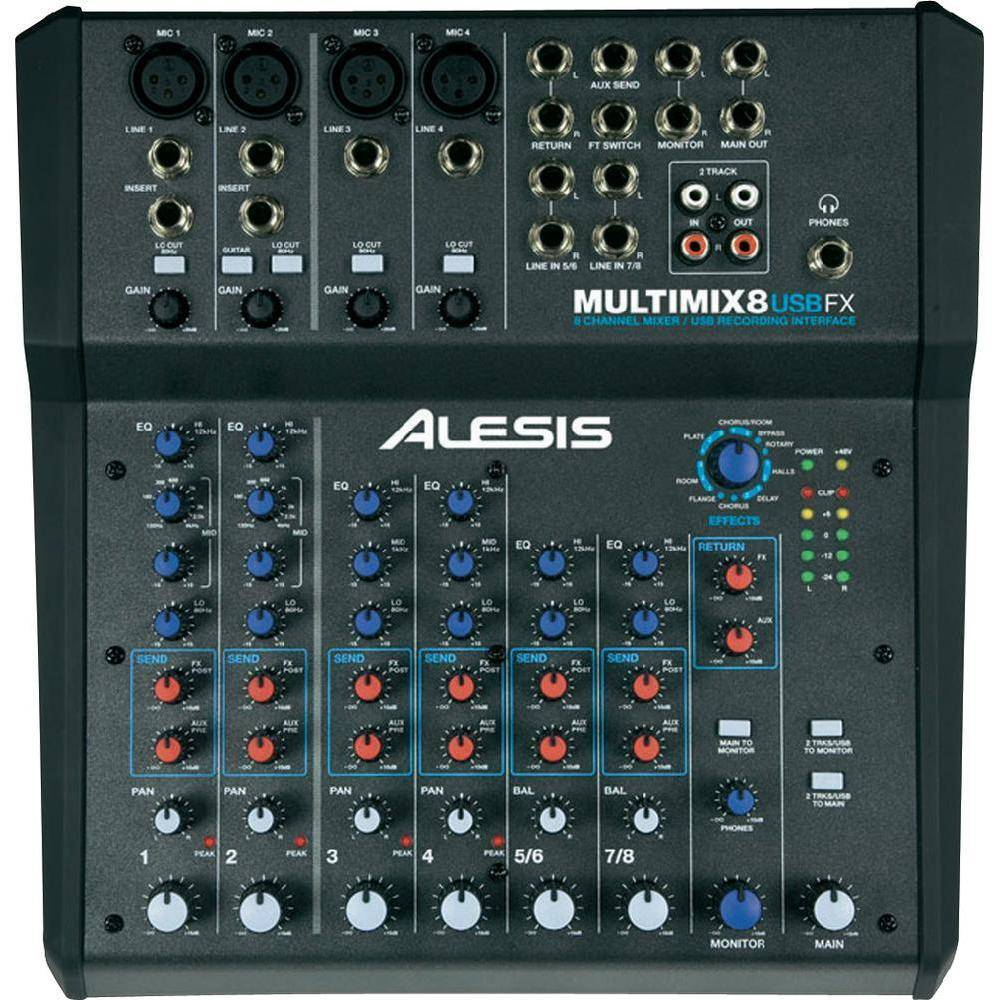 ALESIS MULTIMIX 8 USBFX ALESIS
