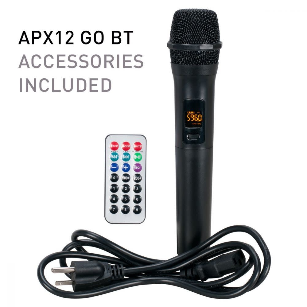 AMERICAN AUDIO APX12-GO-BT AMERICAN AUDIO