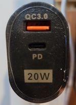 PD+QC3.0 20W
