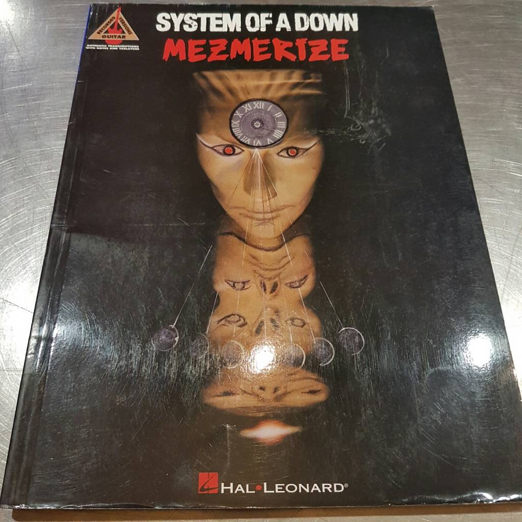 SYSTEM OF A DOWN MEZMERIZE - HAL LEONARD