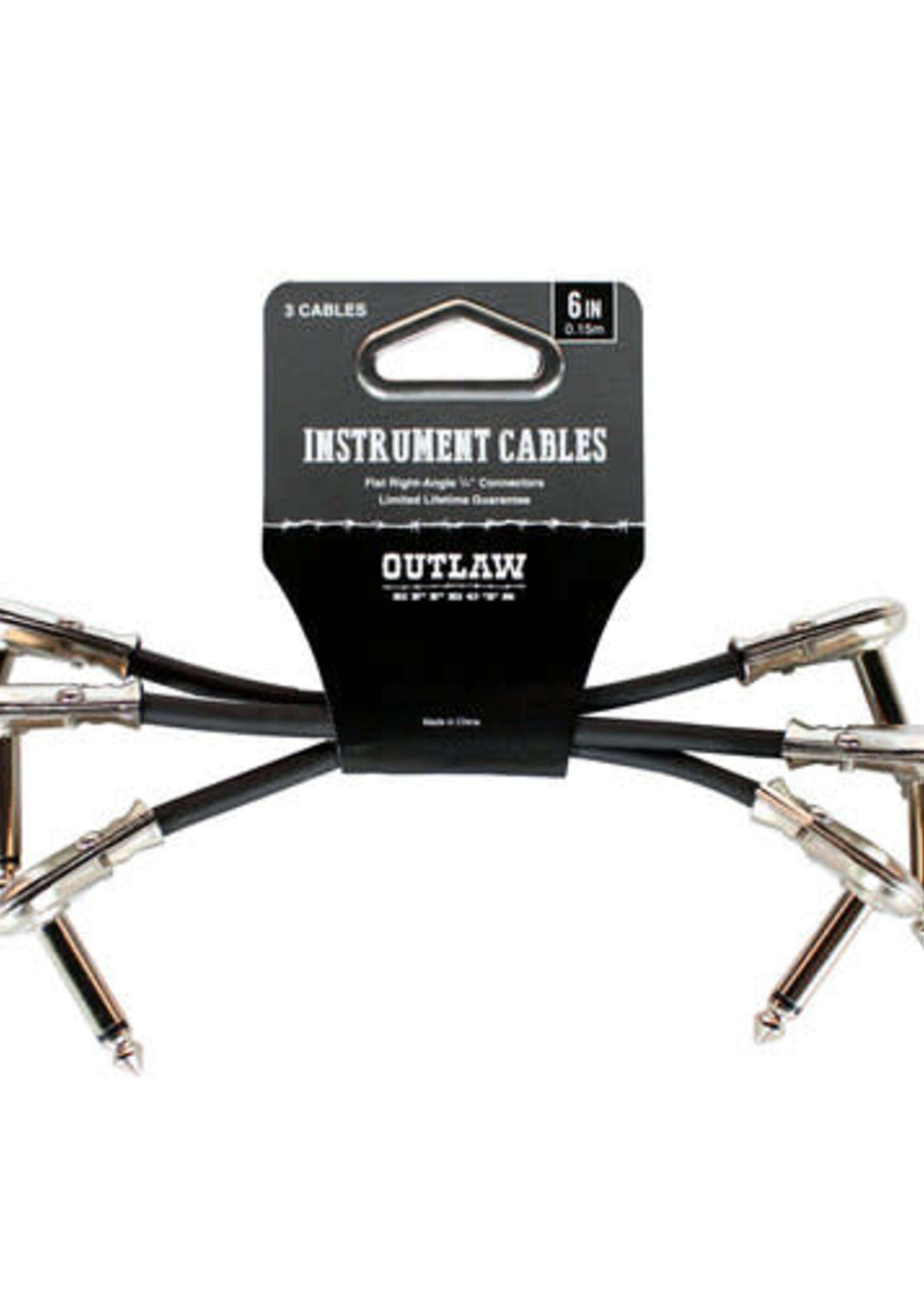OUTLAW EFFECTS CABLE-6IN-3PK OUTLAW