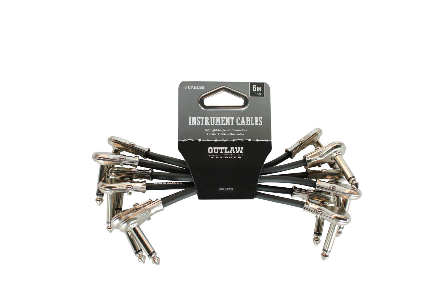 OUTLAW EFFECTS CABLE-6IN-6PK OUTLAW