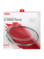 "Evans Accessories E-RING 10-12-14-14"" FUS PACK"